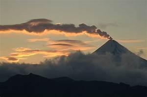 Shishaldin Volcano at Sunset