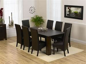 Dining Room Top Modern Round Dining Room Table For 8