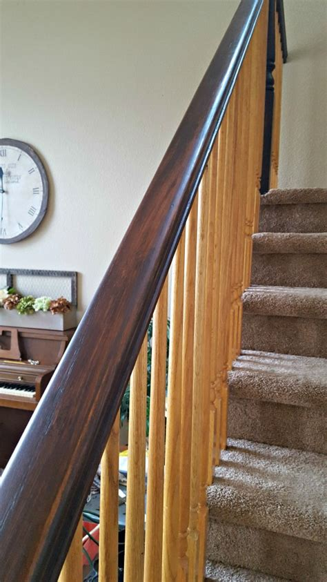 refinish banister staircase refinishing the easy way and for 50