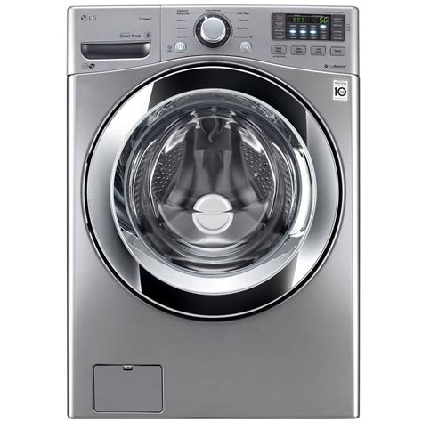 washer dryer lg depot load front places graphite washers wm3670hva steel electronics steam courtesy