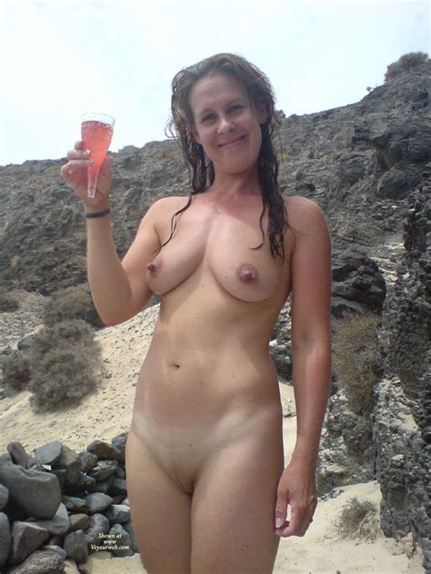 Nude Wife On Beach With Champage January Voyeur Web Hall Of Fame