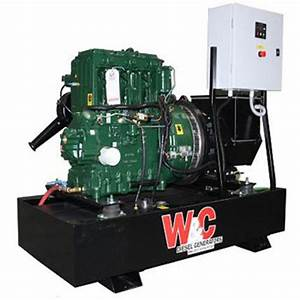 6 1 Kw At 1500 Rpm Lister Petter T Series Diesel Generator Engine