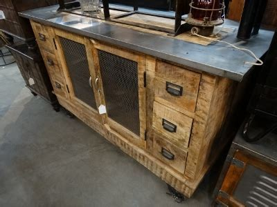 Rustic Industrial Cabinet This cabinet features 2 doors