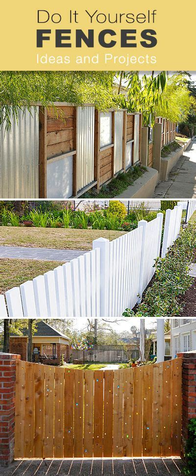 How To Build Backyard Fence by Flowers Gardens Diy Fences