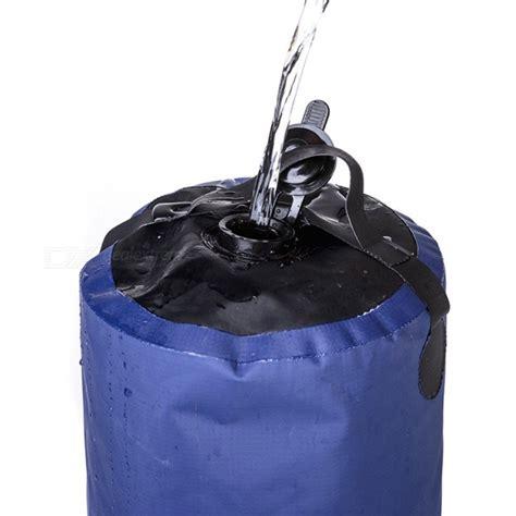 Nh Outdoor Shower Bath Bag Nonsolar Water Bag Blue