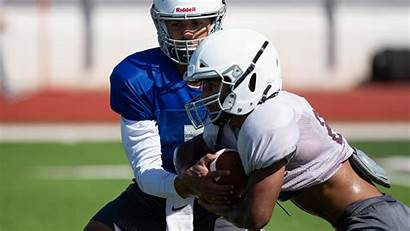 Bluff Flour Practice Quarterback Football Hornets