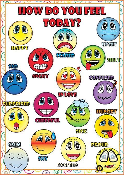 Feelings And Emotions Poster Worksheet  Free Esl Printable Worksheets Made By Teachers