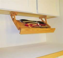 Under Cabinet Spice Rack That Pull Down by Under Cabinet Knife Rack By Ultimate Kitchen Storage