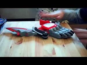 Power ranger Jungle Fury Rhino Morpher and blade - YouTube