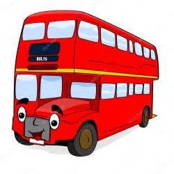 Double-Decker Bus Cartoon