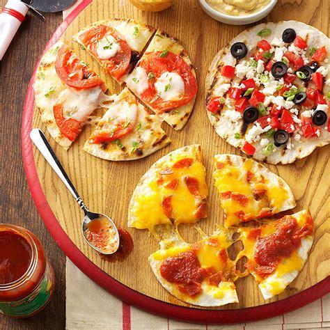 appetizer pizzas recipe taste of home