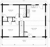 Simple Two Bedrooms House Plans For Small Home  Spacious Home With Floor Pla