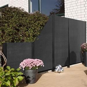 Sichtschutz Garten 2 Meter Hoch : sichtschutzwand kunststoff geflecht anthrazit sichtschutz ~ Bigdaddyawards.com Haus und Dekorationen