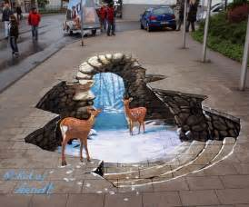 25 new cool creative 3d street art paintings 2012