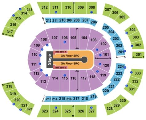 Bridgestone Arena Tickets In Nashville Tennessee