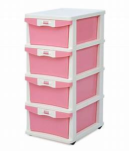Chester, Storage, Cabinet, With, 3, Drawer, In, Pink
