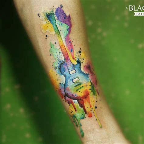 cool guitar tattoo designs  tattoo ideas gallery
