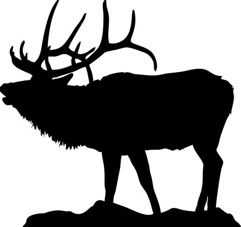 The Gallery For Moose Silhouette Free