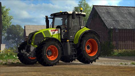 claas axion   tractor farming simulator