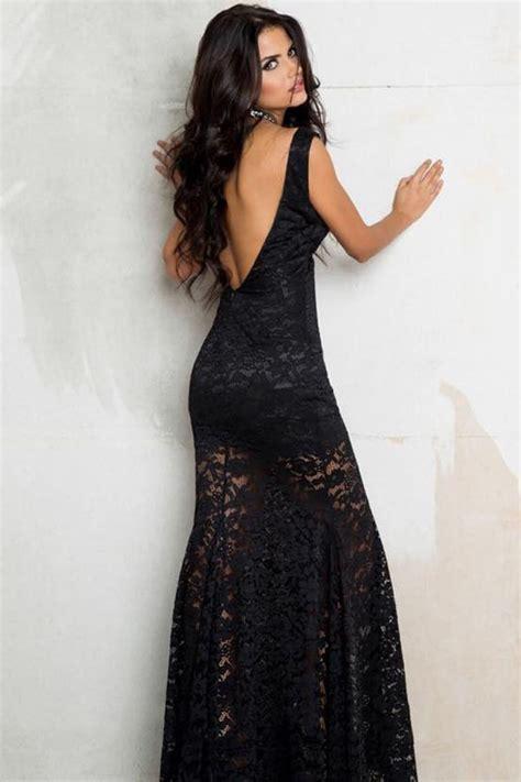puzzle cuisine longue robe élégante en dentelle dos nu robe de