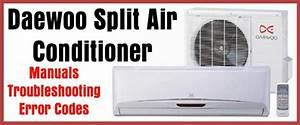 Daewoo Split Air Conditioner - Manuals