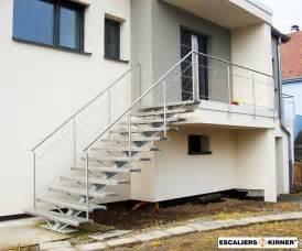 Re D Escalier Inox Prix by Nos Exemples D Escalier Sur Mesures En Alsace Escaliers Kirner