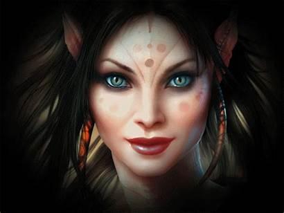 Transformation Monster Woman Lovethispic Scary Elf Fantasy
