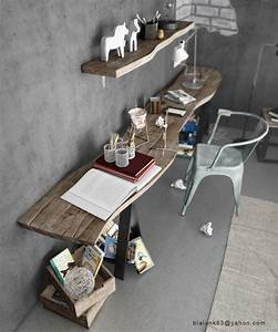 Industrial style home office | Interior Design Ideas.
