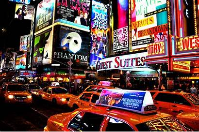 Broadway York Square Times Cab Musical Musicales