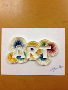 quilling letters  numbers images quilling