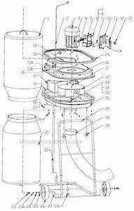 Jet Dc-500 Parts List And Diagram