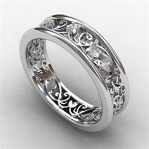 lovely country style engagement rings With country themed wedding rings