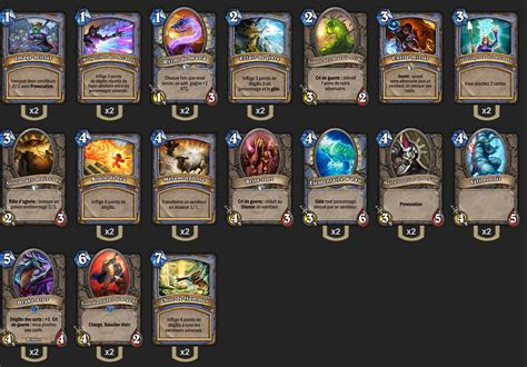 Hearthstone Deck Builder Mage by Deck D 233 Butant Mage Hearthstone Hearthstone Heroes Of