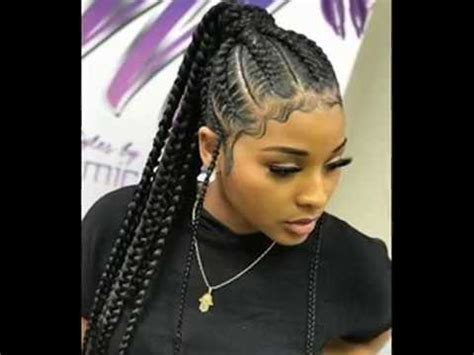 Braided Hairstyles by Black Braided Hairstyles 2018 Braided
