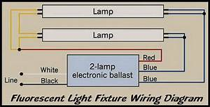 Double Fluorescent Lights Wiring Diagram