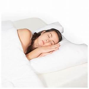 hudson medical science of sleep side support pillow With cervical support pillow side sleeper