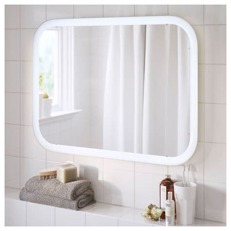 Bathroom Mirrors With Built In Lights by Storjorm Mirror With Built In Light White In 2019