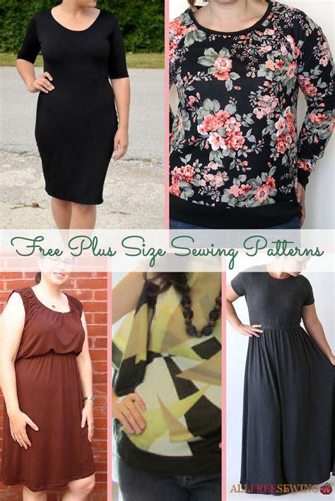 size sewing patterns allfreesewingcom