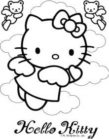 Pudgy Bunny 39 S Hello Kitty Coloring Pages