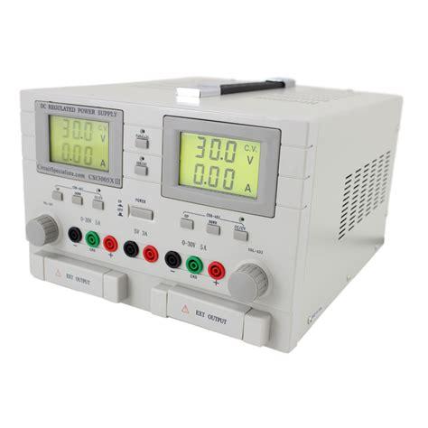 Triple Output Volt Adjustable Linear Power Supply