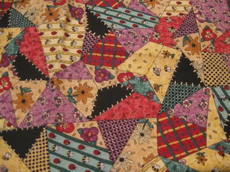 sale patchwork fabric  lisa sealy  springs