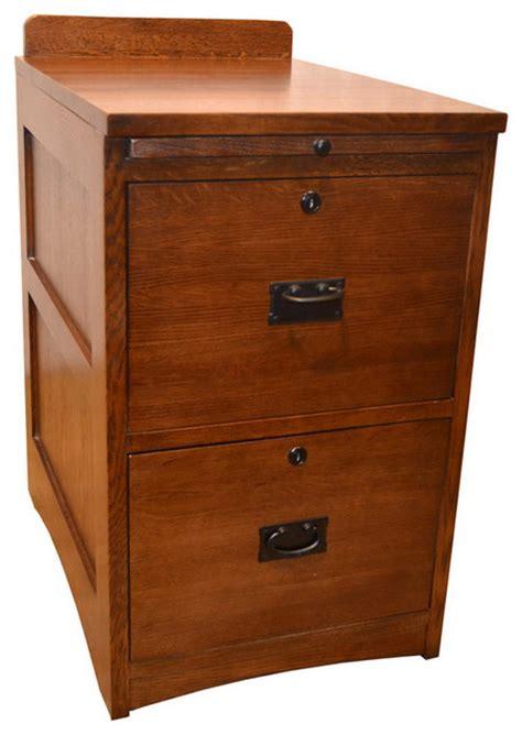 oak two drawer file cabinet mission solid oak 2 drawer file cabinet craftsman
