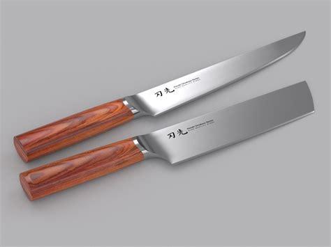 kitchen knives 3d models 3ds