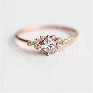 21 ideas for a dazzling diamond wedding chic vintage With wedding ring with diamond