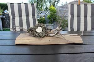 Tischdeko Mit Holz : nat rlich dekorieren tischdeko ~ Eleganceandgraceweddings.com Haus und Dekorationen