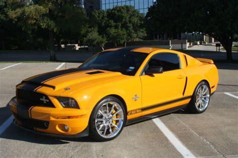 Mustang Shelby Gt500 Supersnake Grabber Orange Carroll