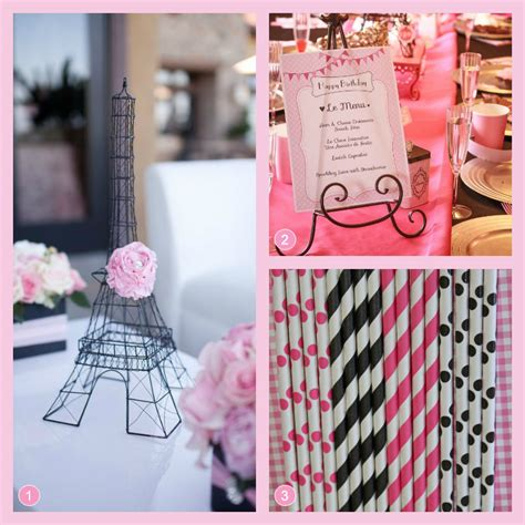 paris themed party ideas simonemadeitcom