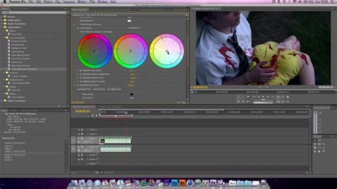 Color Correcting & Color Grading