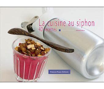 cuisine au siphon cartonné lou hugo achat livre