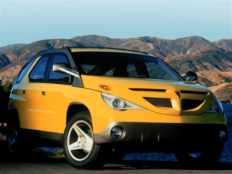 Pontiac Car : Pontiac Aztek Concept (1999)